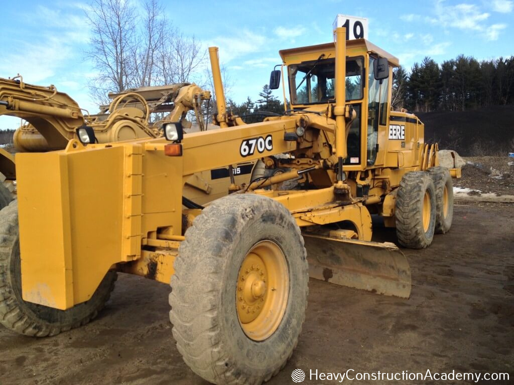 motor grader training heavy equipment operator